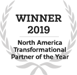 Dell Technologies North America Transformational Partner of the Year winner award icon
